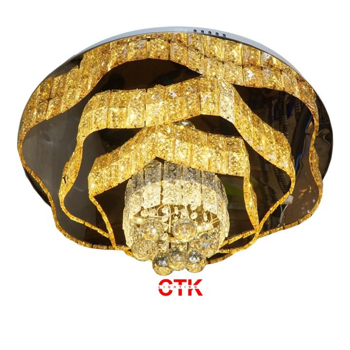 Đèn Ốp Trần Pha Lê OTPL01T600
