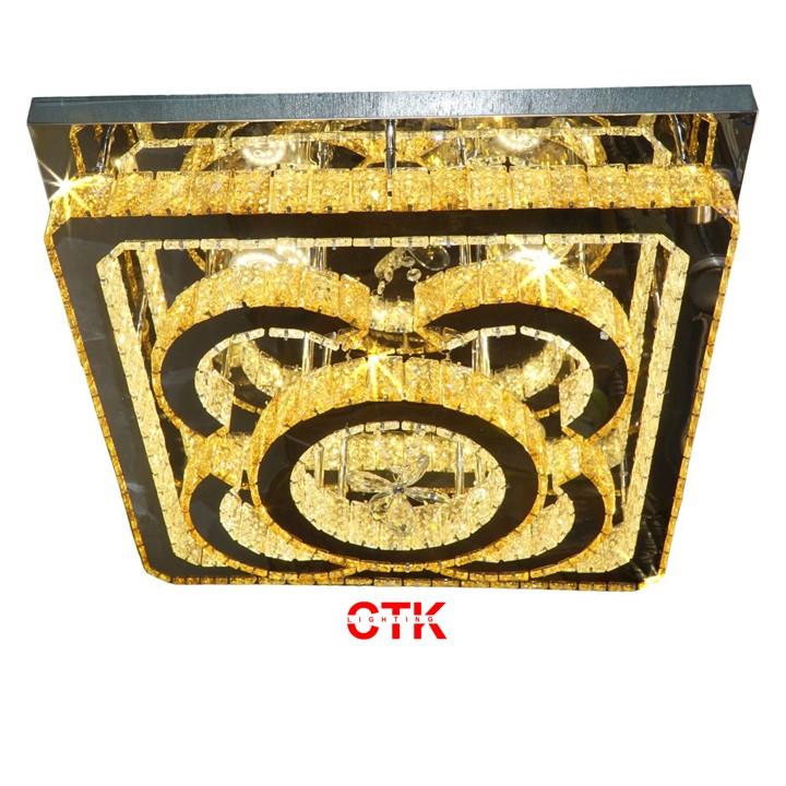 Đèn Ốp Trần Pha Lê OTPL08V600